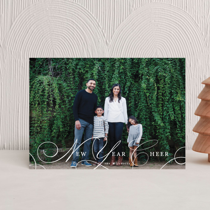 """""""Classy Christmas"""" - Holiday Postcards in Snow by Hooray Creative."""