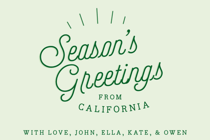Seasons greetings from holiday postcards by half pint studio minted close up m4hsunfo