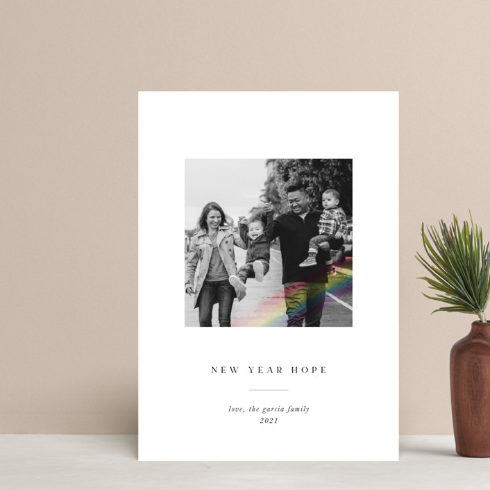 """""""Rainbow Overlay"""" - Holiday Postcards in Ink by Chryssi Tsoupanarias."""