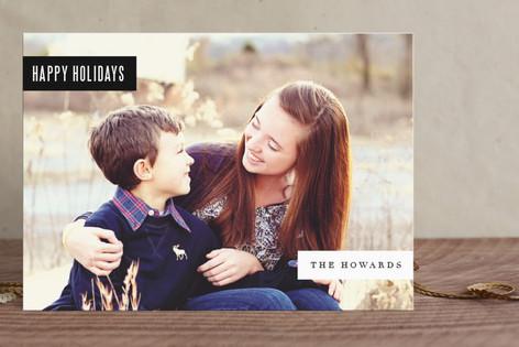 Multi Tab Holiday Postcards