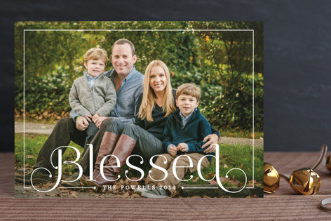 Simply Blessed Holiday Postcards
