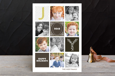Quilted Holiday Postcards