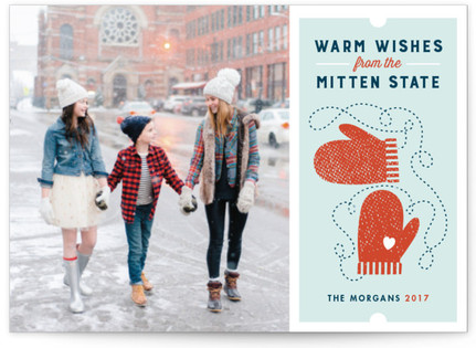 Mitten State Holiday Postcards