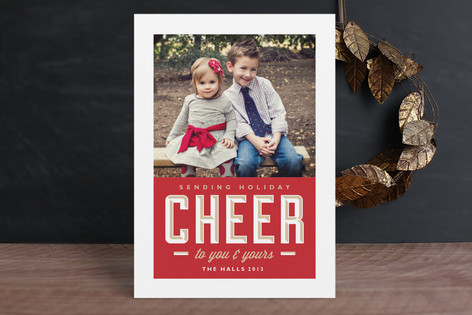 Sending Cheer Holiday Postcards