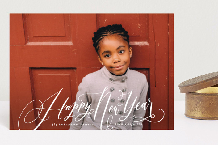 """""""Joy to All the World"""" - Holiday Postcards in Snow Berries by Wildfield Paper Co.."""