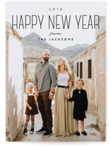 Tallest New Year Holiday Postcards
