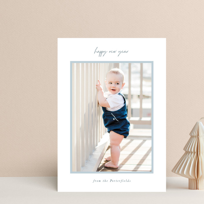 """""""simply styled"""" - Holiday Postcards in Sky by Sara Hicks Malone."""
