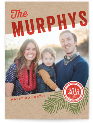 We Are Family Holiday Postcards