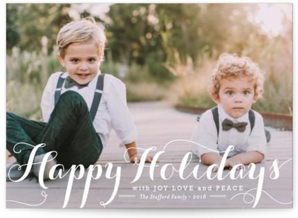 Spirit of Christmas Holiday Postcards