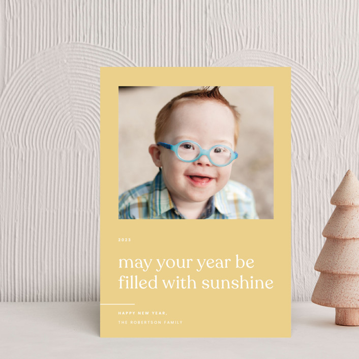 """""""Sunshine"""" - Holiday Postcards in Sunlight by Blustery August."""