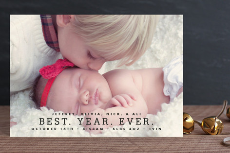Best Year Ever Holiday Postcards