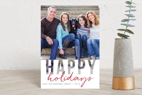 Christmas Cutout Holiday Postcards