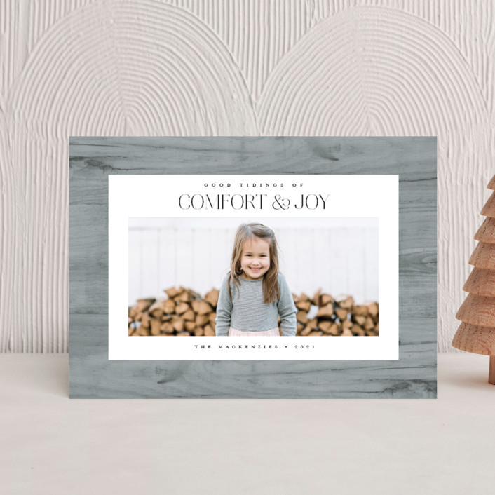"""""""Fireside"""" - Bohemian Holiday Postcards in Ash by Heather Schertzer."""