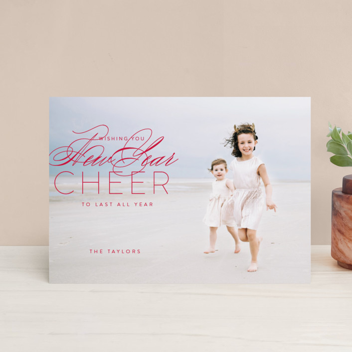 """""""luke 2:10"""" - Holiday Postcards in Holly by Guess What Design Studio."""