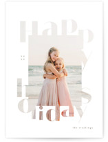 This is a white christmas postcard by chocomocacino called gugelhupf with standard printing on signature in postcard.
