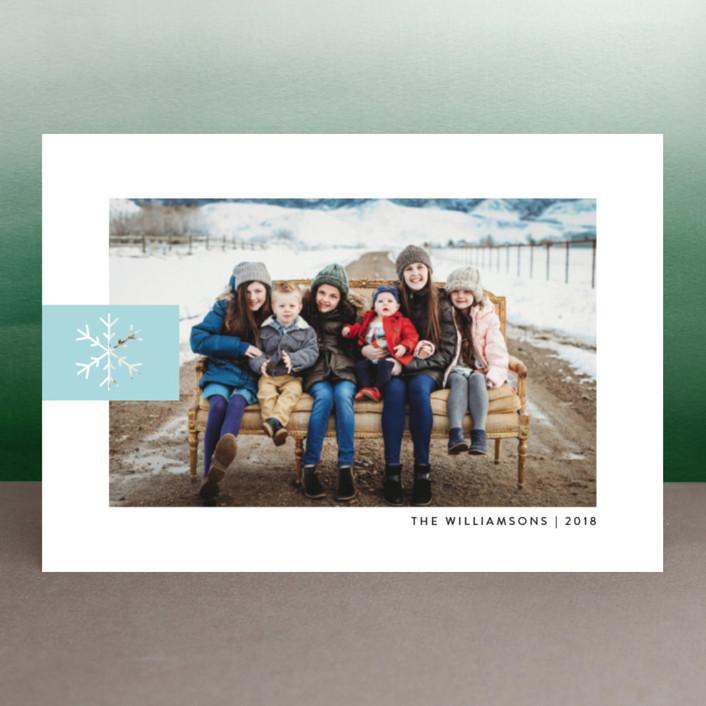 """Snowflake Tab"" - Holiday Postcards in Ice by Ellis."