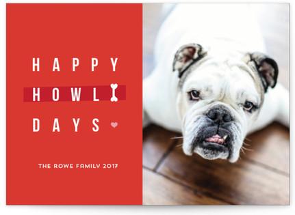 Happy happy Howlidays Holiday Postcards