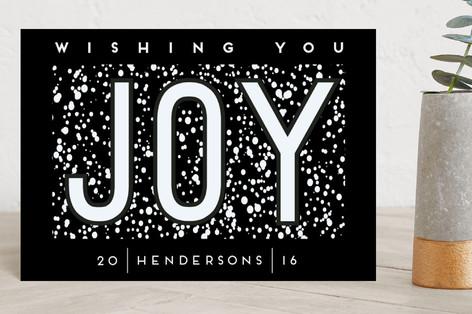 Joy Holiday Postcards