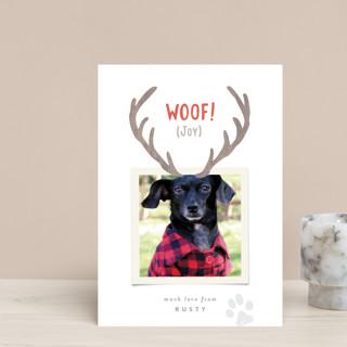 Reindeer Ears Holiday Postcards