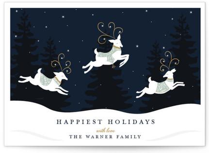 Reindeer Games Holiday Postcards