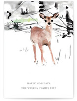 Painted Deer by Jenny Partrite