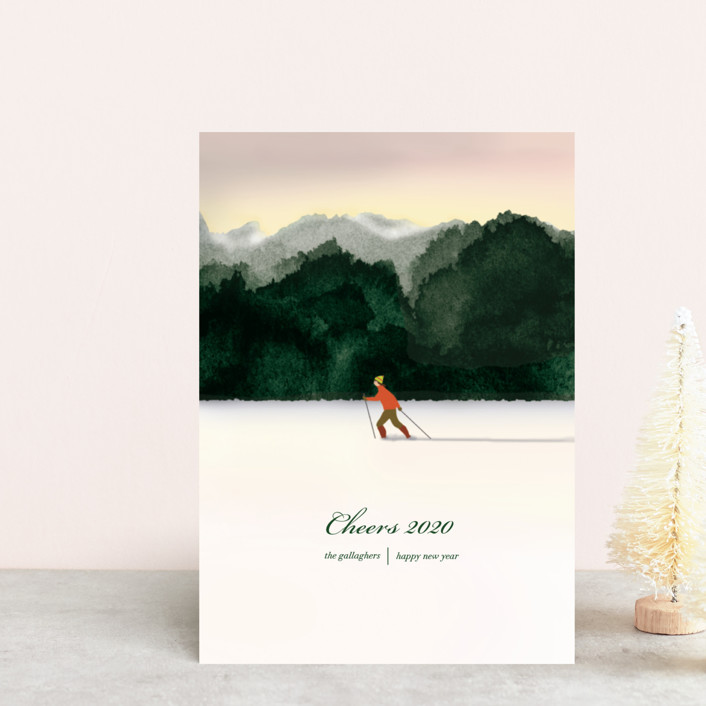 """Season's Best"" - Holiday Postcards in Emerald by Shannon."
