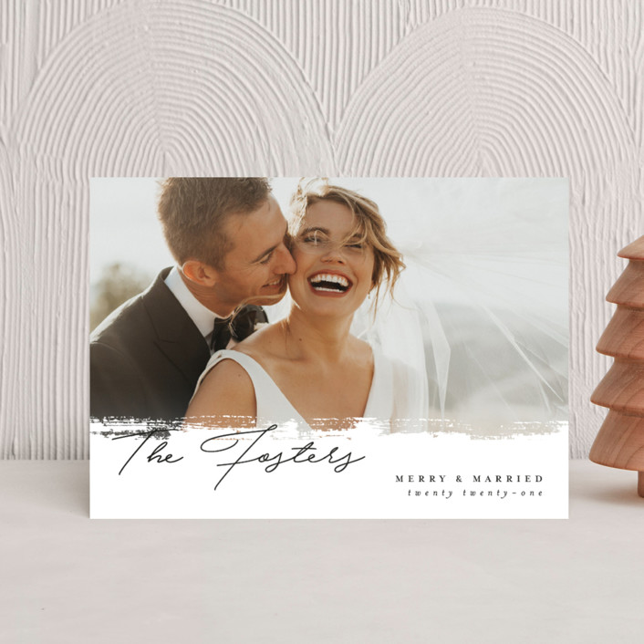 """Merry Marry"" - Holiday Postcards in Diamond by Pixel and Hank."