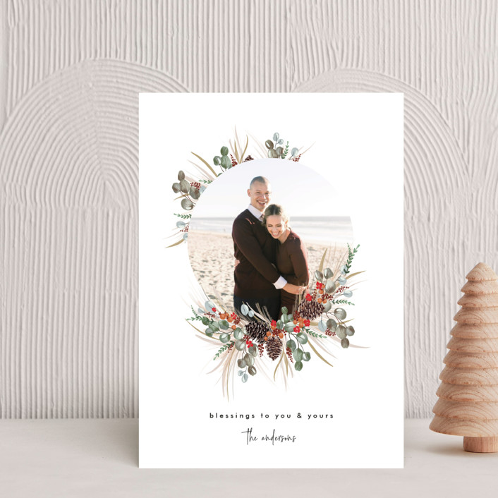 """""""Trimming Together"""" - Holiday Postcards in Candy by Nicole Whiddon."""