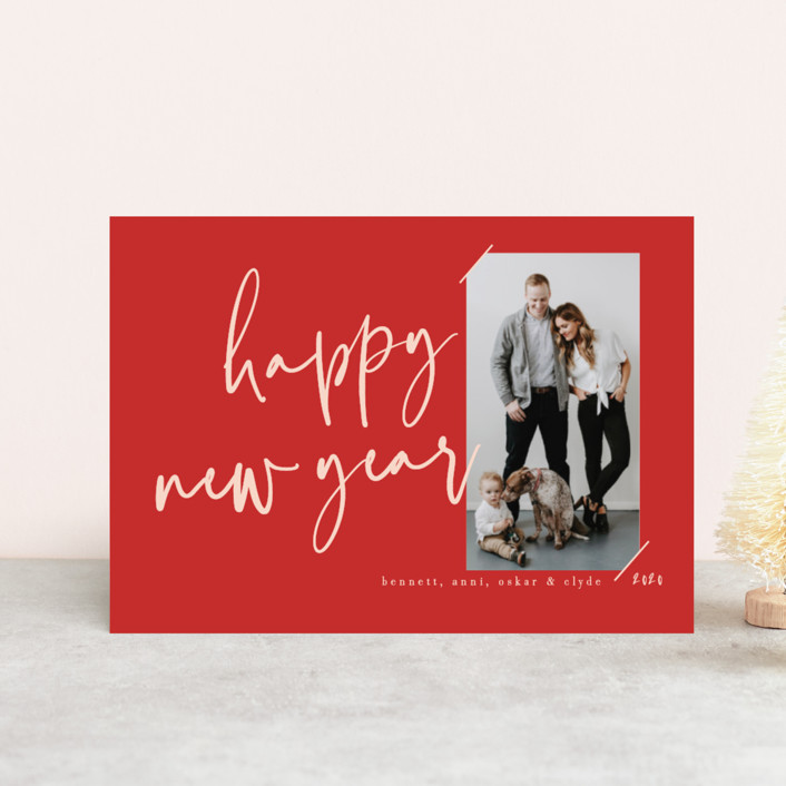 """""""scripted greeting"""" - Holiday Postcards in Ink by Susan Zinader."""