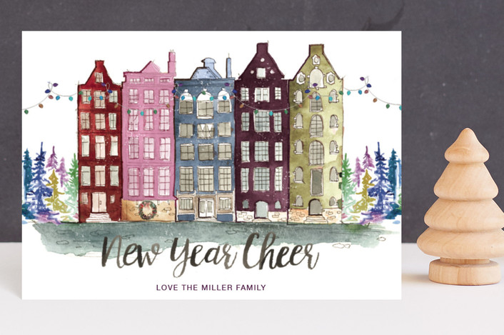 """""""A Holiday Abroad"""" - Holiday Postcards in Velvet by Kelsey McNatt."""