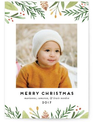 Golden Berries Holiday Postcards