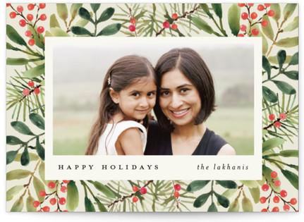 Tropical Pine Holiday Postcards