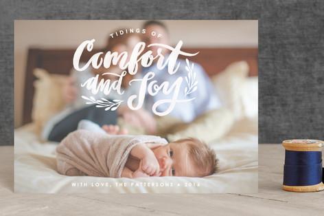 Comfort and Joy Holiday Postcards