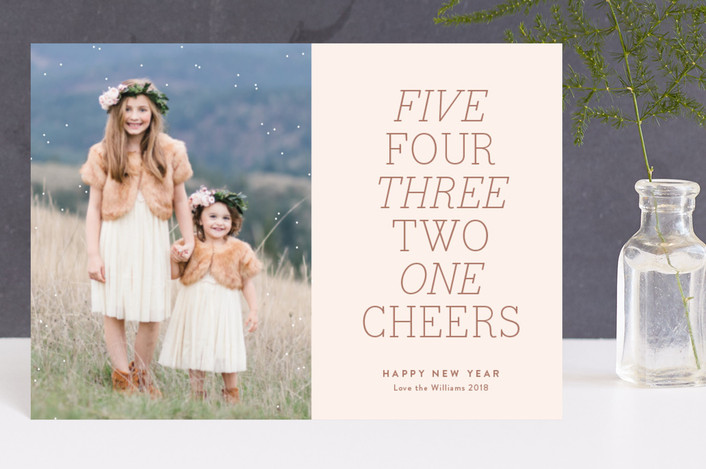 """Micah 6:8"" - Holiday Postcards in Cheeky by Design Lotus."