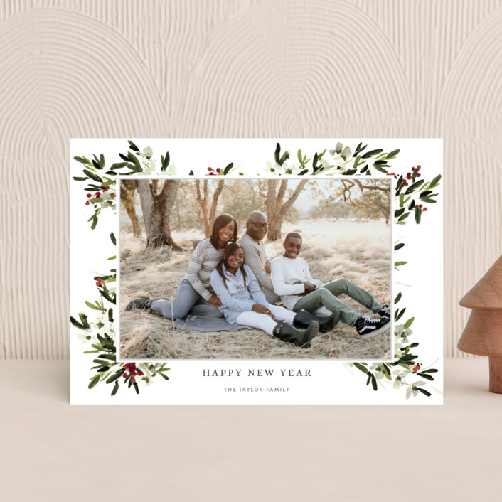 """""""winter bliss"""" - Holiday Postcards in Snow by Kelly Ventura."""