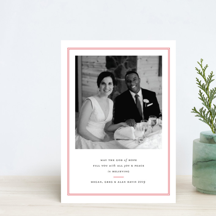 """""""Pure Joy"""" - Holiday Postcards in Stocking by Toast & Laurel."""