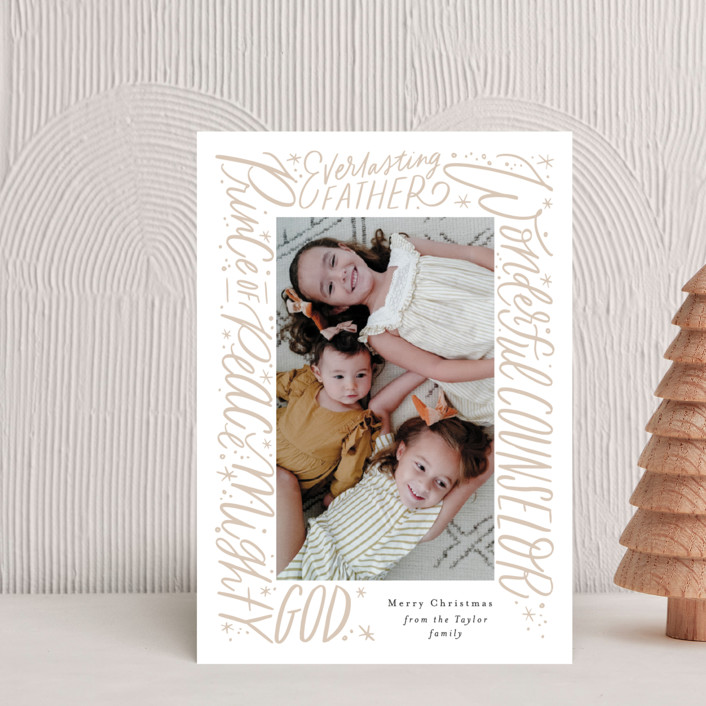 """""""He will be called"""" - Holiday Postcards in Gingerbeard by Alethea and Ruth."""