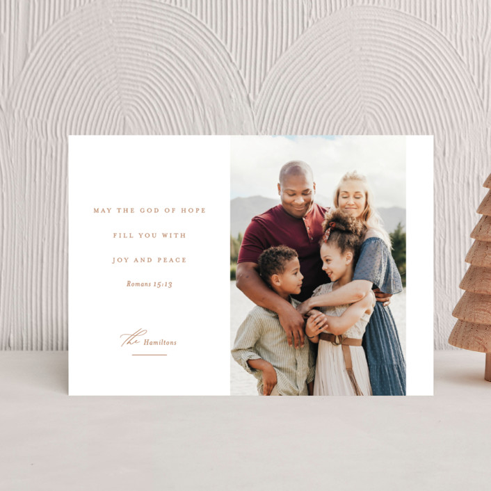 """""""Romans 15:13"""" - Holiday Postcards in Golden by Jessica Williams."""