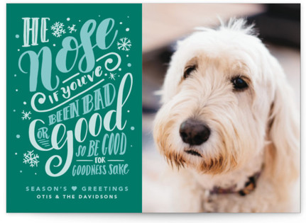 He Nose Holiday Postcards