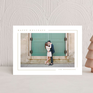 Simply Serene Holiday Postcards