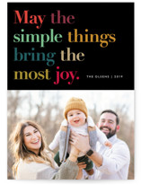 Simple Things Holiday Postcards