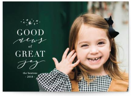 Greatest Joy Holiday Postcards