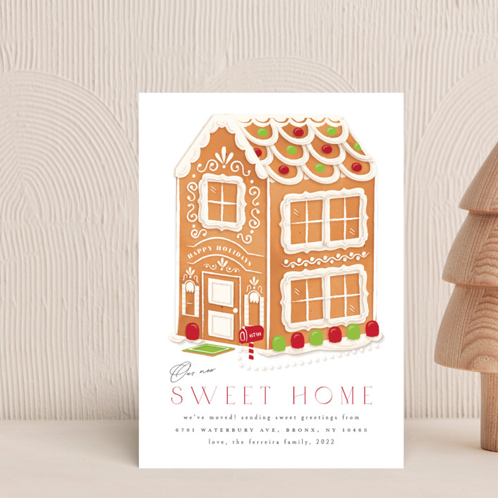 """""""sweet home"""" - Holiday Postcards in Evergreen by Ana de Sousa."""