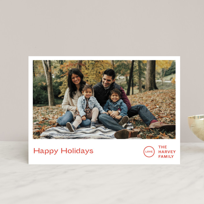 """""""Punched"""" - Holiday Postcards in Holly by Jack Knoebber."""
