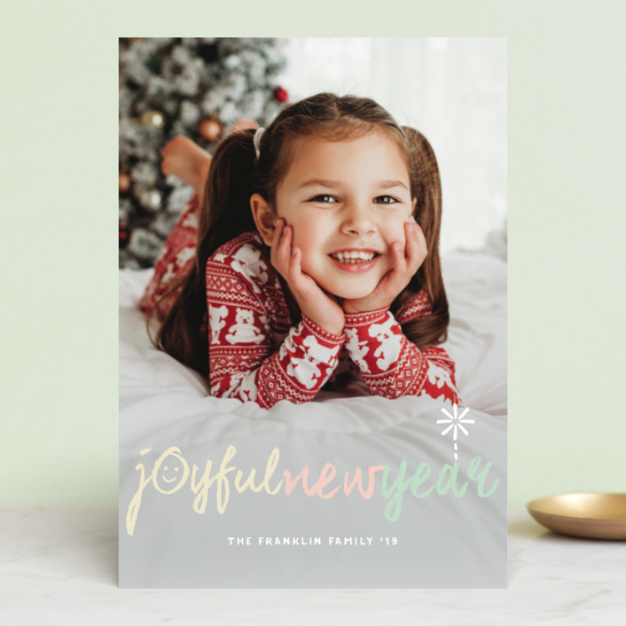 """""""Peace Love Joy Hope Symbols"""" - Holiday Postcards in Cotton Candy by fatfatin."""