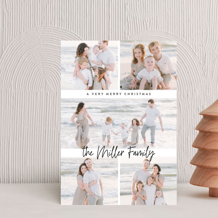"""""""multi merry"""" - Holiday Postcards in Onyx by Owl and Toad."""