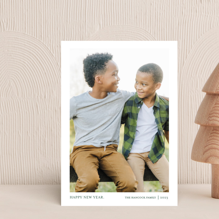 """""""Tiny Blessings"""" - Holiday Postcards in Spruce by That Girl Press."""