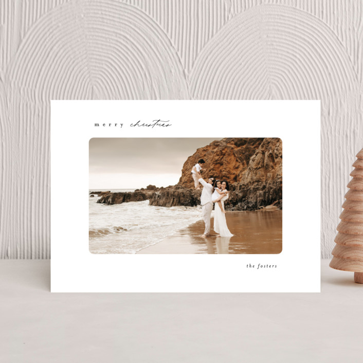 """""""Simple"""" - Holiday Postcards in Ink by Brianne Larsen."""