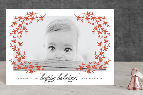 Lovely Laurel Holiday Postcards