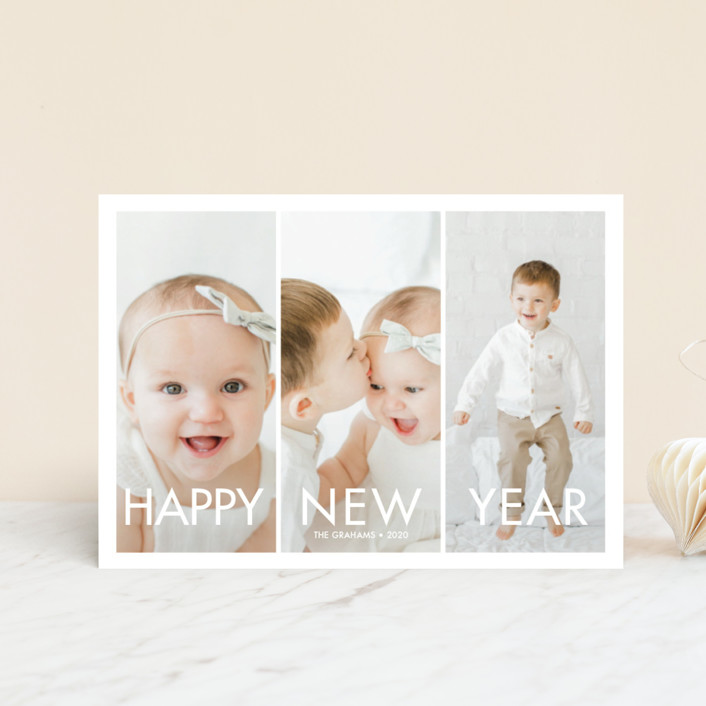 """More the Merrier"" - Holiday Postcards in Winter by chica design."
